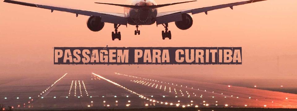 Passagem para Curitiba