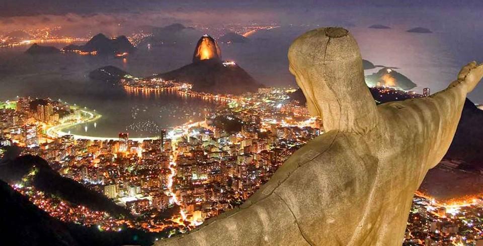 A trajetória Rio abaixo