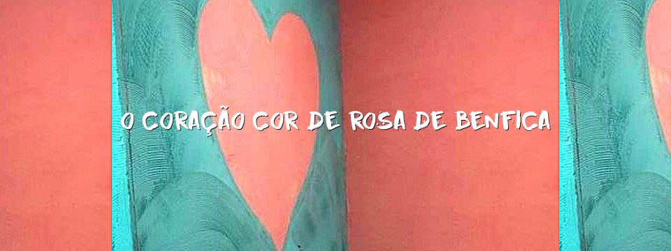O coração cor-de-rosa