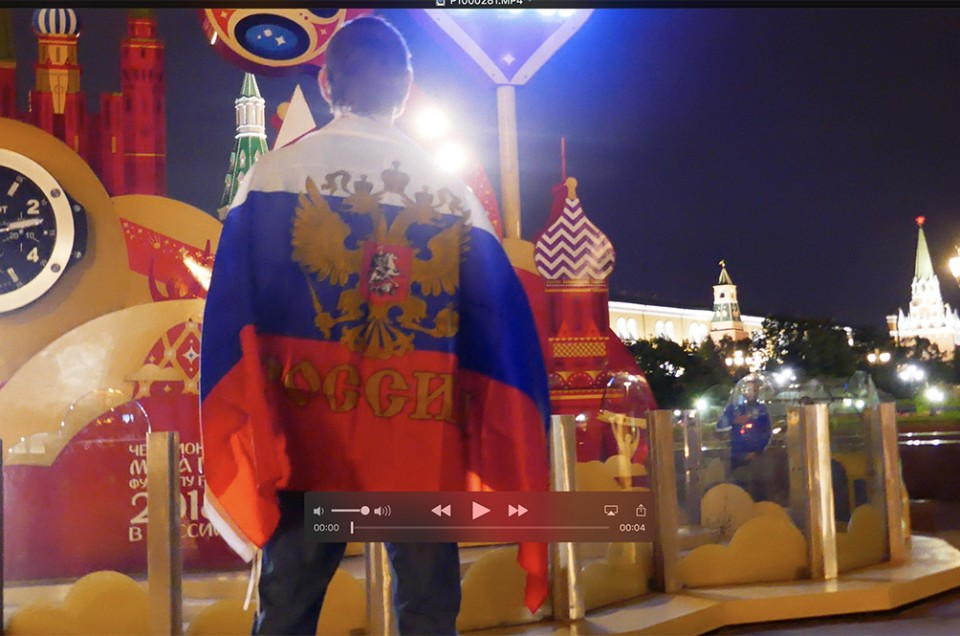 Os russos não dão bandeira